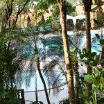 området ved hotellet