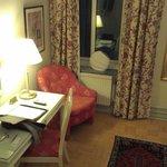 Interior of room.