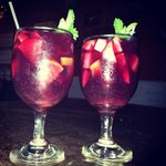 very good sangria and great presentation!