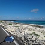Punta Sur coast line