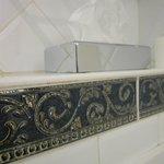 Detail of bathroom in Room 206
