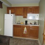 Sign of the Buck Suite - Kitchenette