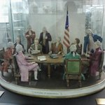 Declaration of Independence in ceramic form