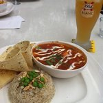 Curry had an authentic spicy flavour, presented as well as it tasted!