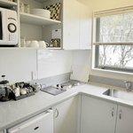 Modern kitchenette facilities