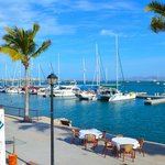 Restaurants and bars at Marina Cortez