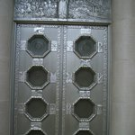 one of the doors going inside the memorial