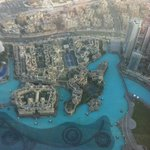 Hotel from the Burj Khalifa looking down (obviously)