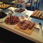 Dessert selection - Sunday brunch