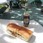 Cajun Jack sandwich @ Turtle's Deli