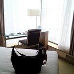 泊まった部屋です。
