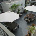 Garden Lounge in the Hotel Gound