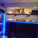 The Bar Counter inside Cafe Bellavista