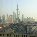view from Club Lounge Hyatt on the Bund
