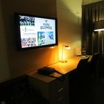 Big LCD TV in guest room