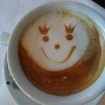 Le petit café sympa du matin!