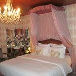 Notre chambre...romantique!