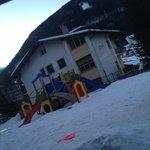 Eterno  dell'Hotel  con il suo parchetto giochi per i bimbi