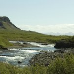Flekkudalsá River