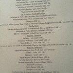 Restaurantkarte