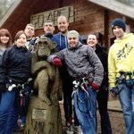 Our Group at Go Ape