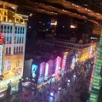 Nanjing Road from 8th floor of hotel