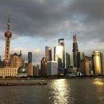 """Skyline of Shanghai seen from """"Bund"""""""