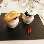 antipasto: variazione di zuppette