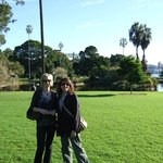 Botanical gardens with our lovely host Suanne