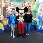 We had a great day meeting Mickey
