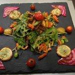 assiette vegetarien