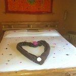 Honeymoon decorations!