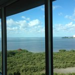 Full view of bay from the room