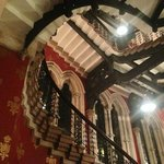 The grand staircase: as seen in Batman Returns, Harry Potter and many more...