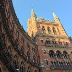 The iconic Gilbert Scott exterior