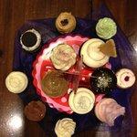 Pretty and festive cupcakes