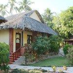 A garden view bungalow