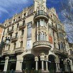 Art deco facades