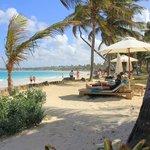 Strand beim VIK Cayena