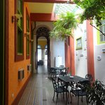 Corridor/ dining area