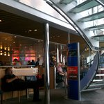 DFDS ferry, Dunkerque-Dover (interior)