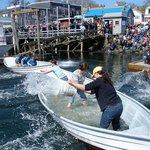 Fishermen's Festival in April - Boothbay Harbor.