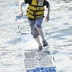 Fishermen's Festival lobster crate races...always a favorite in Boothbay Harbor.