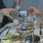 You can drink RAKI only this Restaursnd like this.