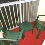 Mini balcon (à 4, y aller à tour de rôle !)