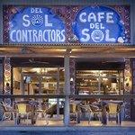 Cafe del Sol, outside