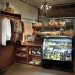 Cafe del Sol, shopping corner + fresh bakery