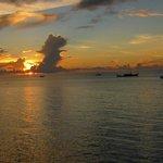 Sunset from Lighthouse restaurant