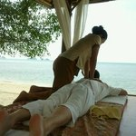 thai massage by the beach