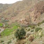 hameau  du gîte dans la famille d'Omar